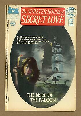 Sinister House of Secret Love #3 1972 VG 4.0