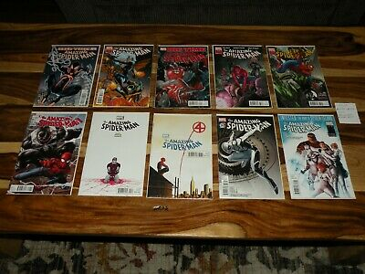 The Amazing Spider-Man 650 651 652 653 654 655-659 Comic Lot ~ All High Grade Nm