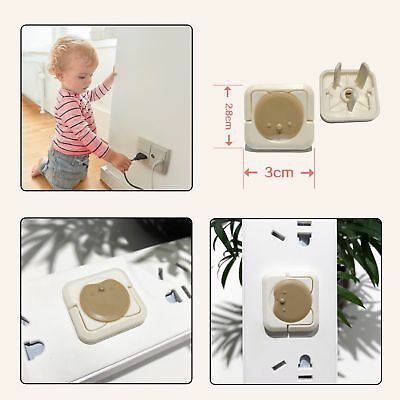 Auzzie Baby Child Kid Safety Power Board Socket Outlet Point Plug Proof Covers