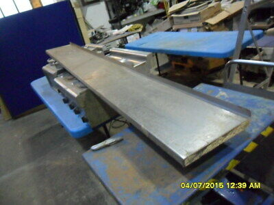 E64) Good Old Stainless Steel Shelf 300 X 2400 Long Needs Cleaning