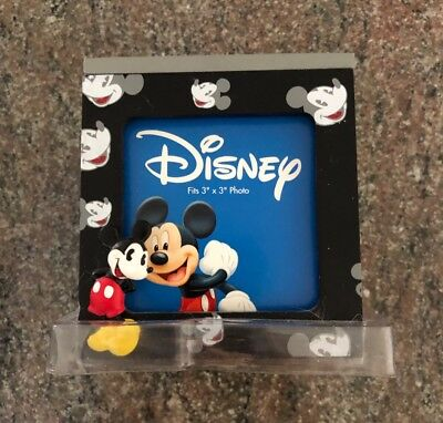 """DisneyMickey Mouse 3"""" x 3"""" Photo/Picture Cube Box Frame"""