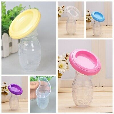 Mom Breastfeeding Manual Silicone Breast Pump Baby Feeding Milk Saver Collector