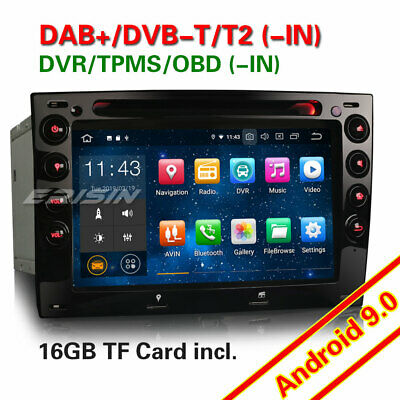 Android 8.1 Autoradio GPS NAVI DVD DAB+ Bluetooth WIFI 4G TNT for RENAULT MEGANE