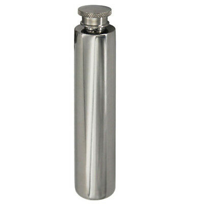 2 Oz Stainless Steel Whisky Alcohol Drinkware Hip Flask Flagon Wine Tube