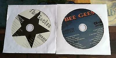2 CDG LOT 1970'S KARAOKE GREAT MUSIC HITS OF THE EAGLES AND BEE GEES CD+G w a'