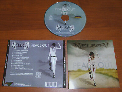 """Nelson """" Peace Out """" 2015  Cd !"""