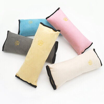 nw Car Seat Belt Pillow for Kids AdjustVehicle ShoulderPad SafetyStrap Cushion