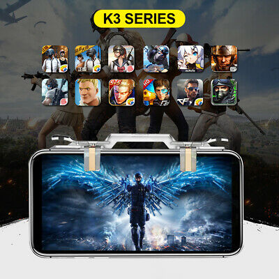 PUBG Mobile Phone Game Controller Fire Button Key Gamepad Shooter Trigger hs2