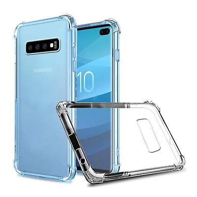 For Samsung Galaxy S10 S10 plus Lite Clear Case Cover Shockproof TPU Bumper