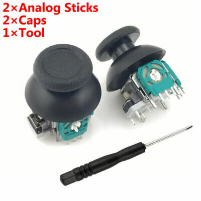 Analog Thumb Joystick Repair Parts Dualshock Replacement For PS4 Controller Top