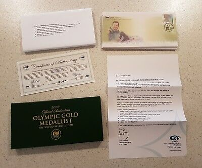 2000 first day covers Olympic gold medalist Australia post collection envelope