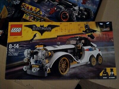 Toys Games Lego Batman Movie The Penguin Arctic Roller 70911 Brand New Sealed Set Lego Complete Sets Packs Toys Games