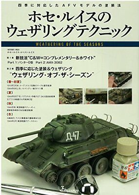 Hobby Japan Jose Luis Weathering Technique Book from japan