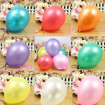 100 Birthday Wedding baloon Large PLAIN BALONS BALLON helium BALLOONS Quality