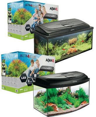 Aquael Aquarium Set AQUA4 START inkl. Abdeckung, Filter, Heizer 60x30x30cm