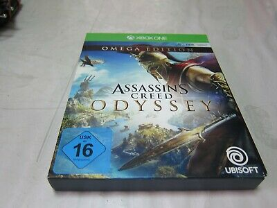 Assassin's Creed Odyssey Omega Edition  (Microsoft Xbox One, 2018)