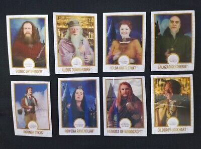 Harry Potter Wizarding World Lenticular Chocolate Frog Card WHITE BORDER CHOICE