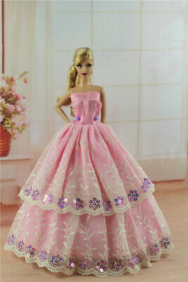 Fashion Princess Party Dress/Evening Clothes/Gown For 11.5 inch Doll a02