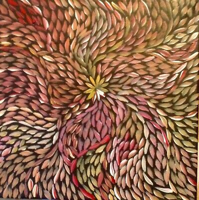 Aboriginal Art Painting Dot OutBack Australia Alice Springs