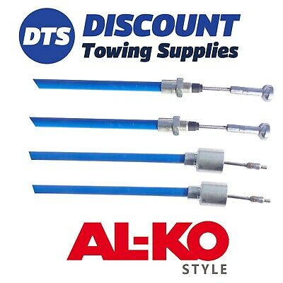 Alko Style 247286 Stainless Steel Detachable Pronto 1130mm Trailer Brake Cables
