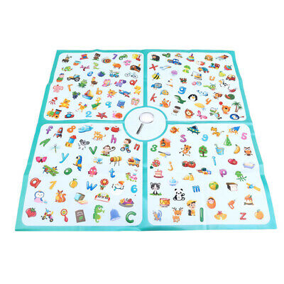 Kid Puzzle Alphabet Parent-child Interactive Game Memory Improve Training Toys