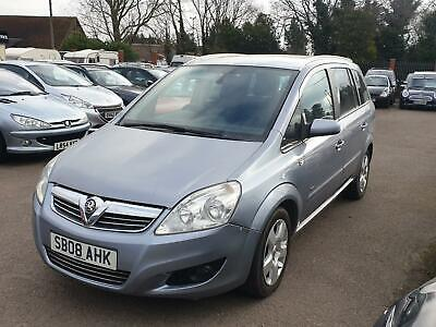 Vauxhall Zafira 1.9 CDTi, 7 Seater, 6 speed, MPV, 150 BHP, Long Mot, Nice Car