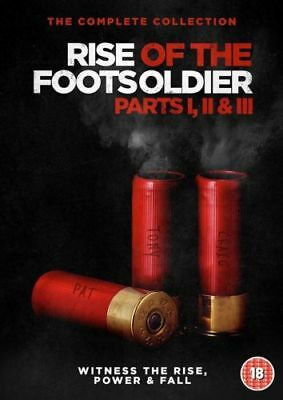 Rise of the Footsoldier Collection Parts 1 2 and 3 (Box Set) [DVD]