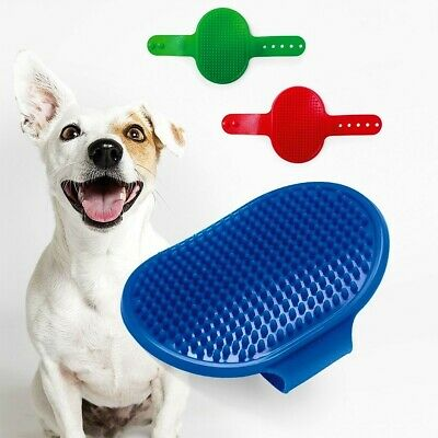 Pet Grooming Brush Cat Dog Deshedding Massage Rubber Pad For Long & Short Hair