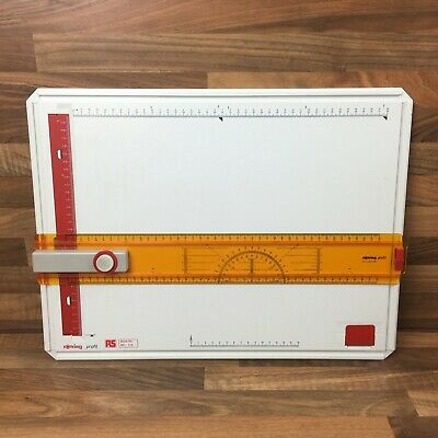 Rotring Profil A3 Drawing Board With Original Set Square 601-114 RS