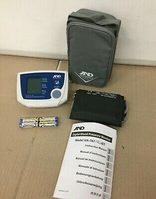 Brand New, A&D Medical UA-767PBT, Bluetooth, Arm Blood Pressure Monitor + pouch