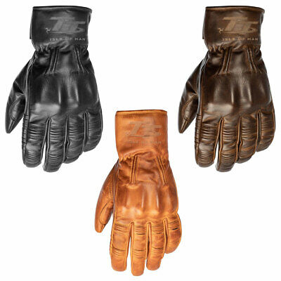 RST IOM TT Hillberry CE Motorbike Motorcycle Retro Gloves - All Colours & Sizes