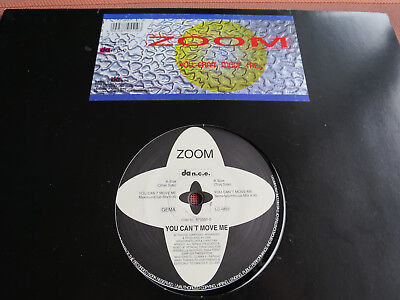 "ZOOM – YOU CAN'T MOVE ME - 12""Maxi Vinyl – Trance – Top Zustand"