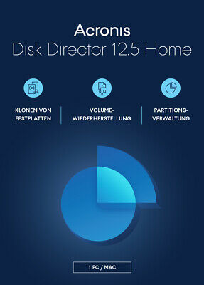 Esd | Acronis | Disk Director 12.5 Home | 1 Pc