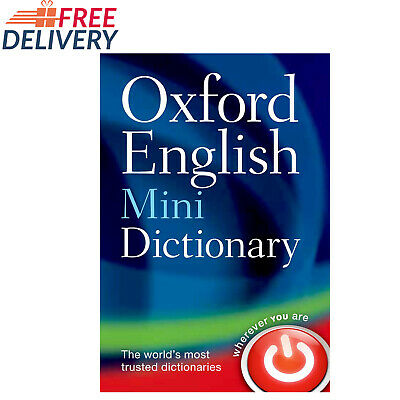 Pocket Size Dictionary Oxford English Corpus Mini School Vocabulary Paperback