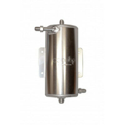 OBP Bulkhead Mount 1.5 Litre Fuel Swirl Pot with JIC Fittings