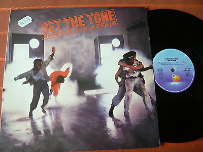 SET THE TONE – SHIFTIN AIR AFFAIR – LP 1983  – Clubsounds – Top Zustand