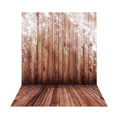 Yellow wood 1.5*2m Big Photography Background Backdrop for photo Studio F9F3
