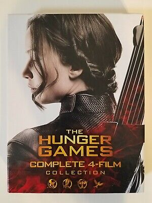 The Hunger Games Complete Collection Boxset (Blu-ray, 6-Disc Set)