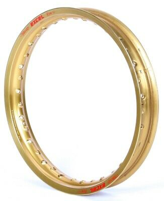 Excel Colorworks Rear MX Rim 19 x 1.85 Gold (GDG406)