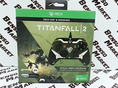 Titanfall 2 Official Wired Controller Xbox One & Windows Gamepad Pdp Fps Nuovo