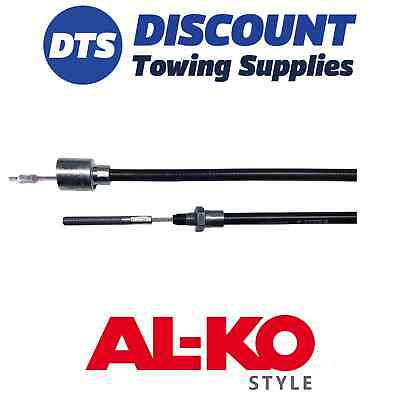 Ifor Williams P0135 Alko Style 1130mm Detachable Trailer Brake Cable 26mm Cup x1