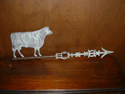 NOS Security Bull Lightning Rod Weathervane