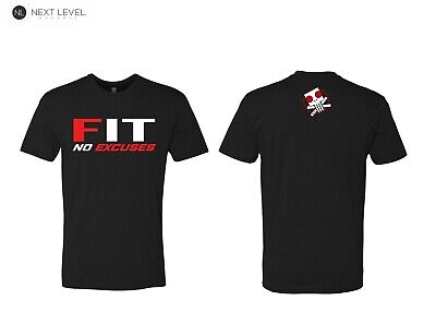 Fit no excuses,Crossfit,Running,Wod,Lift,Gym,T-Shirt,Fitness,Cardio,Savage,Fit