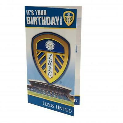 Leeds United F.C. Birthday Cards in various styles Official Merchandise