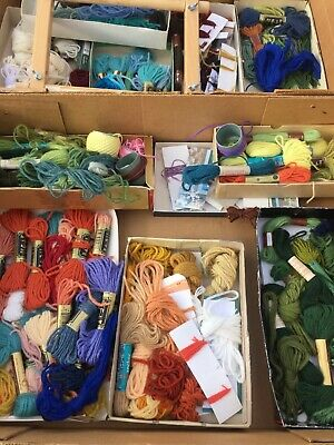 Tapestry wools - large job lot of mainly unopened packs of tapestry wool -
