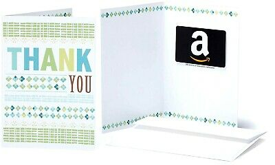 Amazon $50 Gift Card W/ A Thank You Greeting Card Free Fast Same Day Shipping