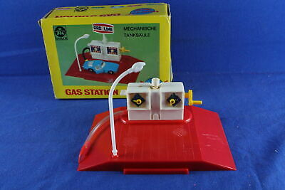 Gas Station Mini Car World Stelco in OVP