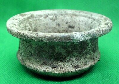 Ancient Celtic Roman Terracotta Ritual Cup - 100/300 Ad