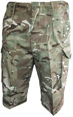 Genuine British Army Issue MTP Shorts BRAND NEW 32 pairs boxed Wholesale JOB LOT