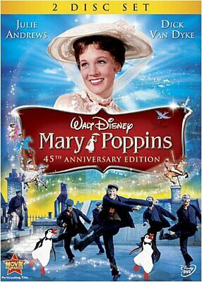 Mary Poppins 45th Anniversary Special Edition Disney DVD [Used]